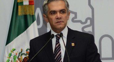 Miguel Ángel Mancera anuncia cambios en su gabinete