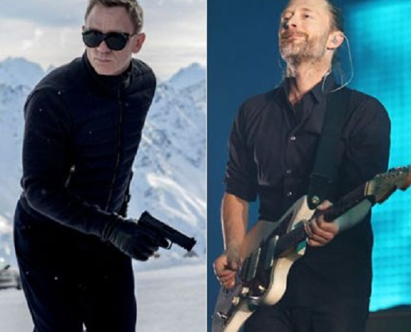 Radiohead ¿favorito para interpretar el tema de Spectre?