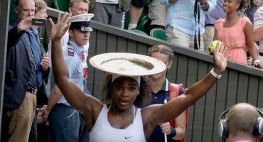 Serena Williams, campeona de Wimbledon por sexta ocasión
