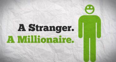 Un sujeto inicia un fondeo sólo para volverse millonario