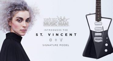 St. Vincent diseña su propio modelo de guitarra con Ernie Ball