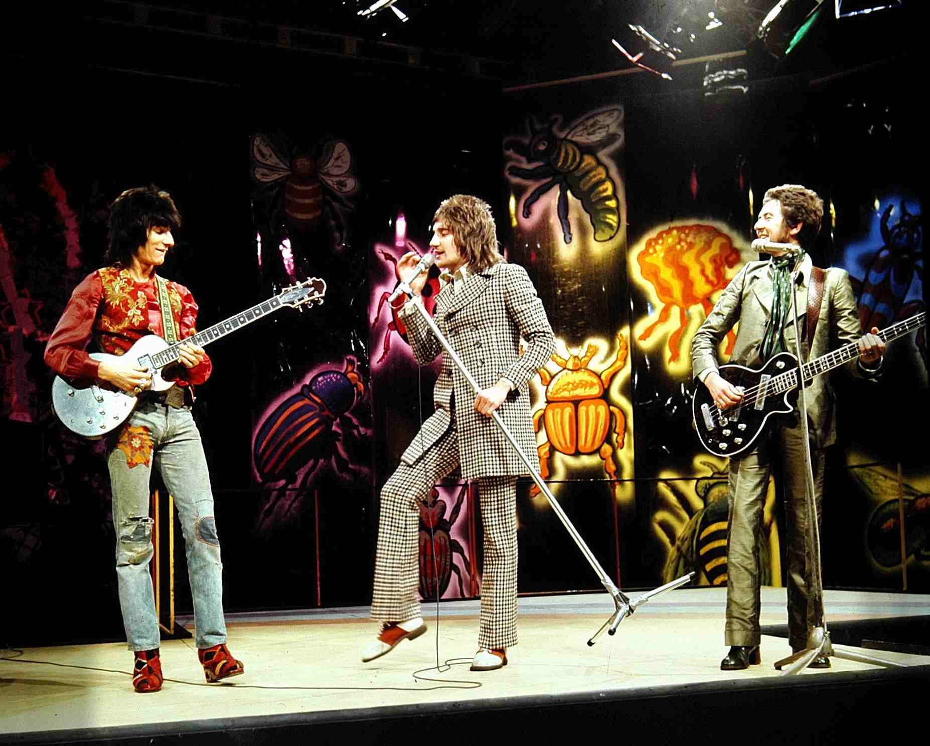 Rod Stewart anuncia reunión de The Faces