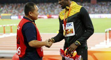 Usain Bolt y el tipo que lo arrolló ahora son los mejores amigos
