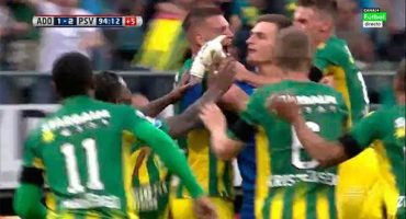 Con un golazo de taquito del portero, ADO empata con el PSV