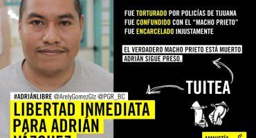 ¡Únete hoy a la campaña en redes #Adriánlibre!