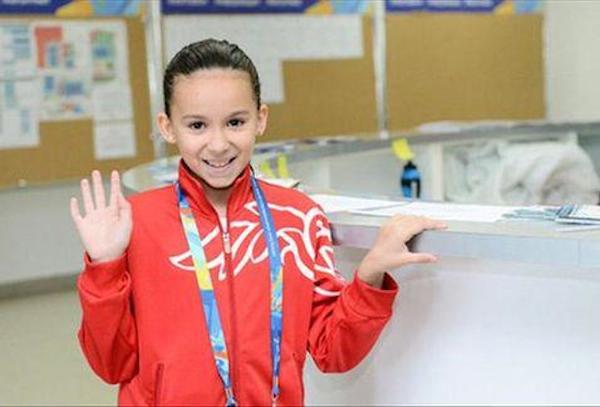 Tiene apenas 10 años y participará en el Mundial de Natación