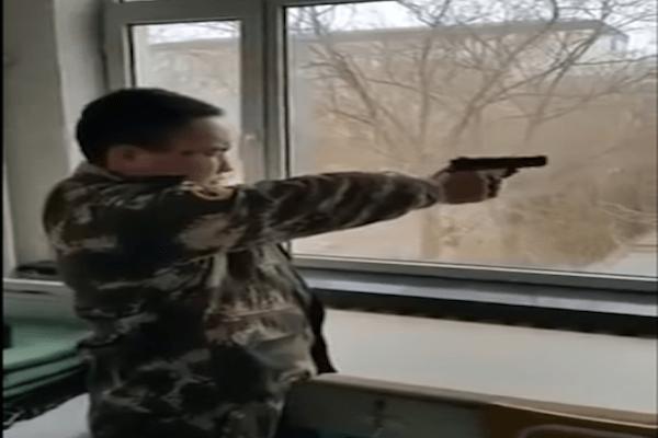 ¡Así disparan los norcoreanos!