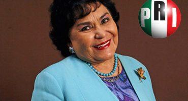 Finura: Así se acreditó Carmen Salinas como diputada federal de PRI