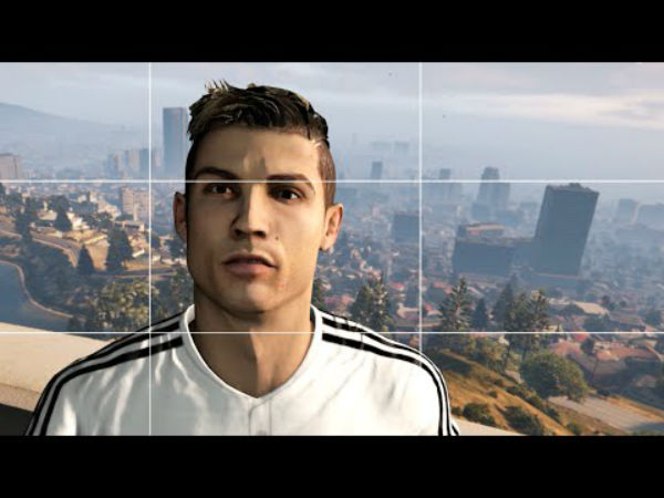 Cristiano Ronaldo aparece en video de Grand Theft Auto V