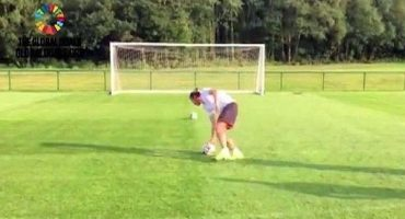 Gareth Bale le entró a la moda del 'penalti mareado' y así le fue...