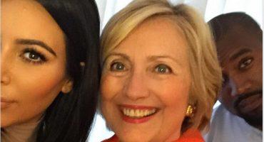 La selfie de Kim Kardashian con Hilary Clinton