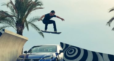 La patineta voladora de Lexus está aquí ¡y ya la queremos probar!