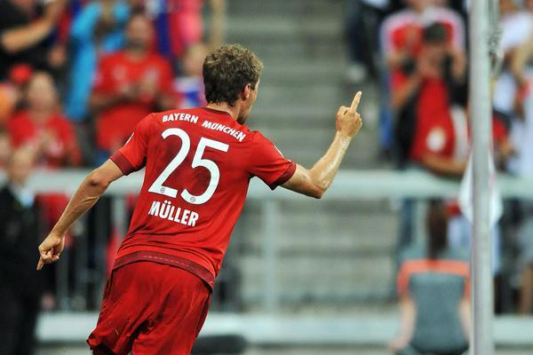 El Bayern abrió con goleada su temporada en la Bundesliga