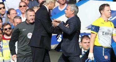 Mourinho explica porqué no saludó a Arsene Wenger