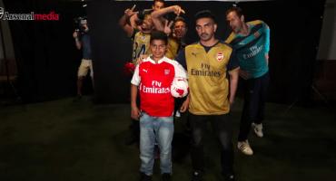 La imperdible sorpresa de los jugadores del Arsenal a sus fans