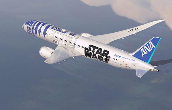¡NERDGASMO! Ana Airlines presenta sus aviones dedicados a Star Wars