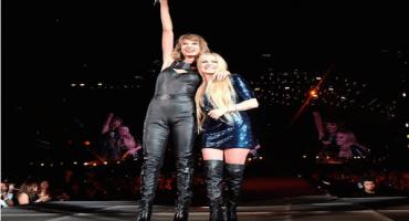 Así se reconciliaron Taylor Swift y Avril Lavigne en San Diego