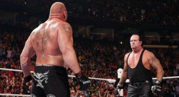 Undertaker se desmaya camino a los vestidores tras vencer a Brock Lesnar en Summerslam 2015