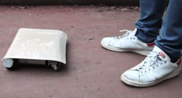 WalkCar: El vehículo más pequeño del mundo
