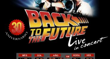Llega por primera vez Back to the Future con la Orquesta Sinfónica Nacional