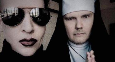 Mira a Marilyn Manson y a Billy Corgan (como una monja) juntos en vivo