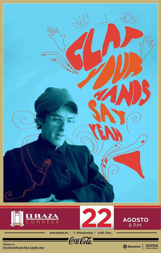 ¡Gana boletos para el concierto de Clap Your Hands Say Yeah!