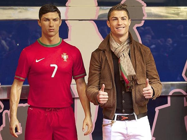 Cristiano Ronaldo pagará más de veinte mil euros por una estatua suya de cera