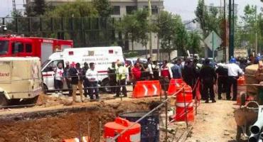 Una persona fallecida tras derrumbe en Cuajimalpa