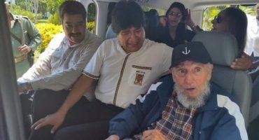 Así festejó cumpleaños Fidel Castro; hoy izarán bandera de EEUU en Cuba