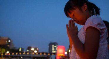 La ceremonia del 70 aniversario de la bomba atómica en Hiroshima