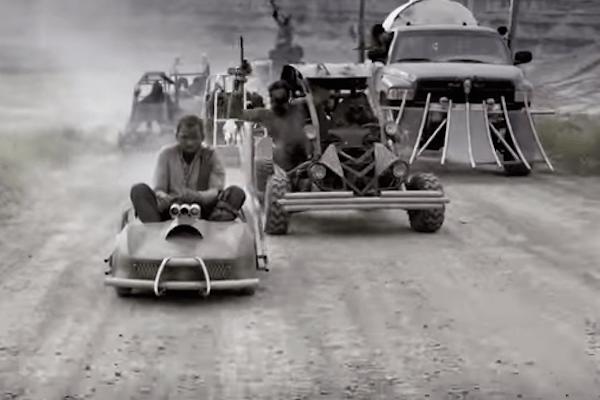 Mad Max: Fury Road, versión Gotcha y Go-Karts