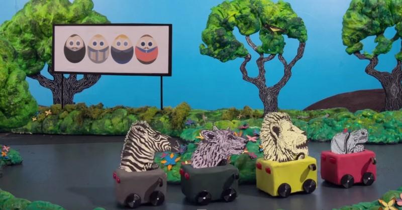 Carreras de animales en el nuevo video de Mew para