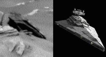 Captan nave de Star Wars en Marte... un momento... ¿¡qué!?