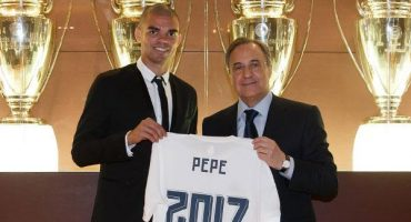 Pepe renovó con el Real Madrid hasta 2017