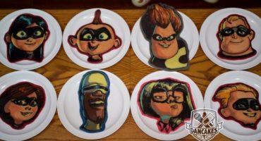 Para desayunar: unos hot cakes al estilo Pixar