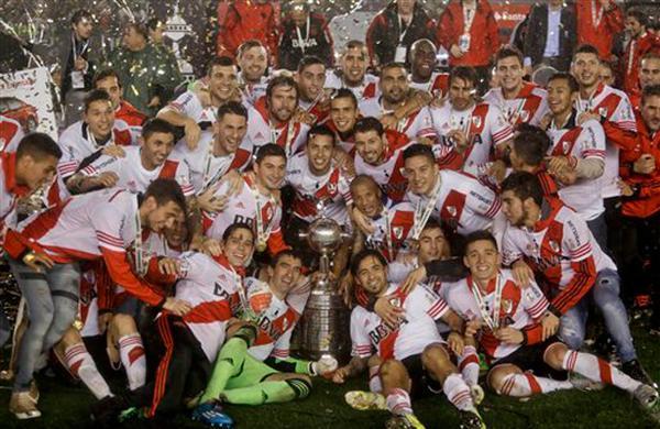 GALERÍA: Así festejo River como campeón de la Copa Libertadores