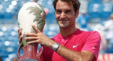 Federer recupera el #2 en la ATP tras ganar Cincinnati