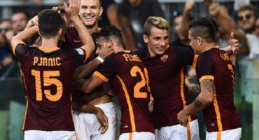 Roma derrotó 2-1 a una irreconocible Juventus