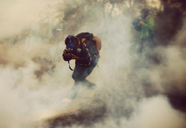 Esto captaba la lente de Rubén Espinosa, fotoperiodista asesinado