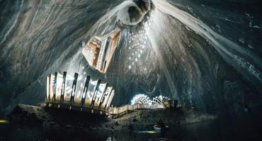El parque de diversiones que está a 120 metros de profundidad