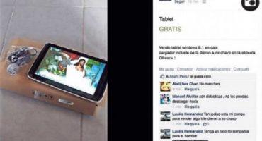 Tablets que da el gobierno a estudiantes son vendidas en internet... por los propios padres