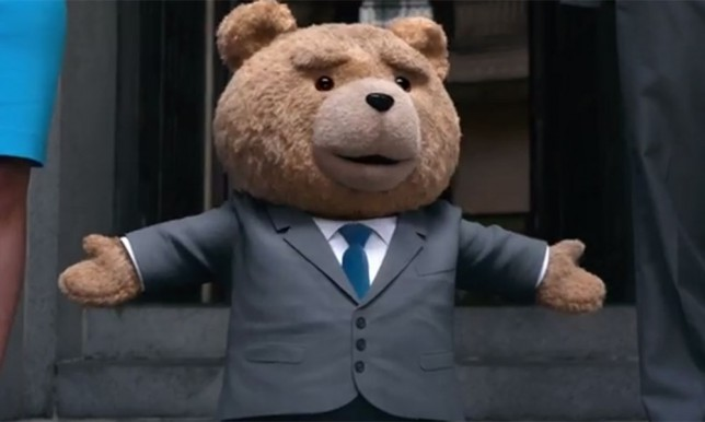 Ted regresó al cine y esto nos platicaron algunos de sus protagonistas