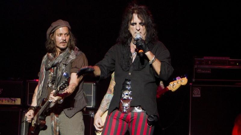 La superbanda de Johnny Depp, Alice Cooper, y Joe Perry anuncia fechas en vivo