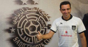 El primer gol de Xavi con el Al-Sadd SC