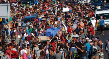 Miles de refugiados caminan desde Budapest hacia Austria