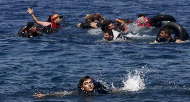 Continúa la crisis en Europa: Mueren 25 refugiados más en el mar Egeo