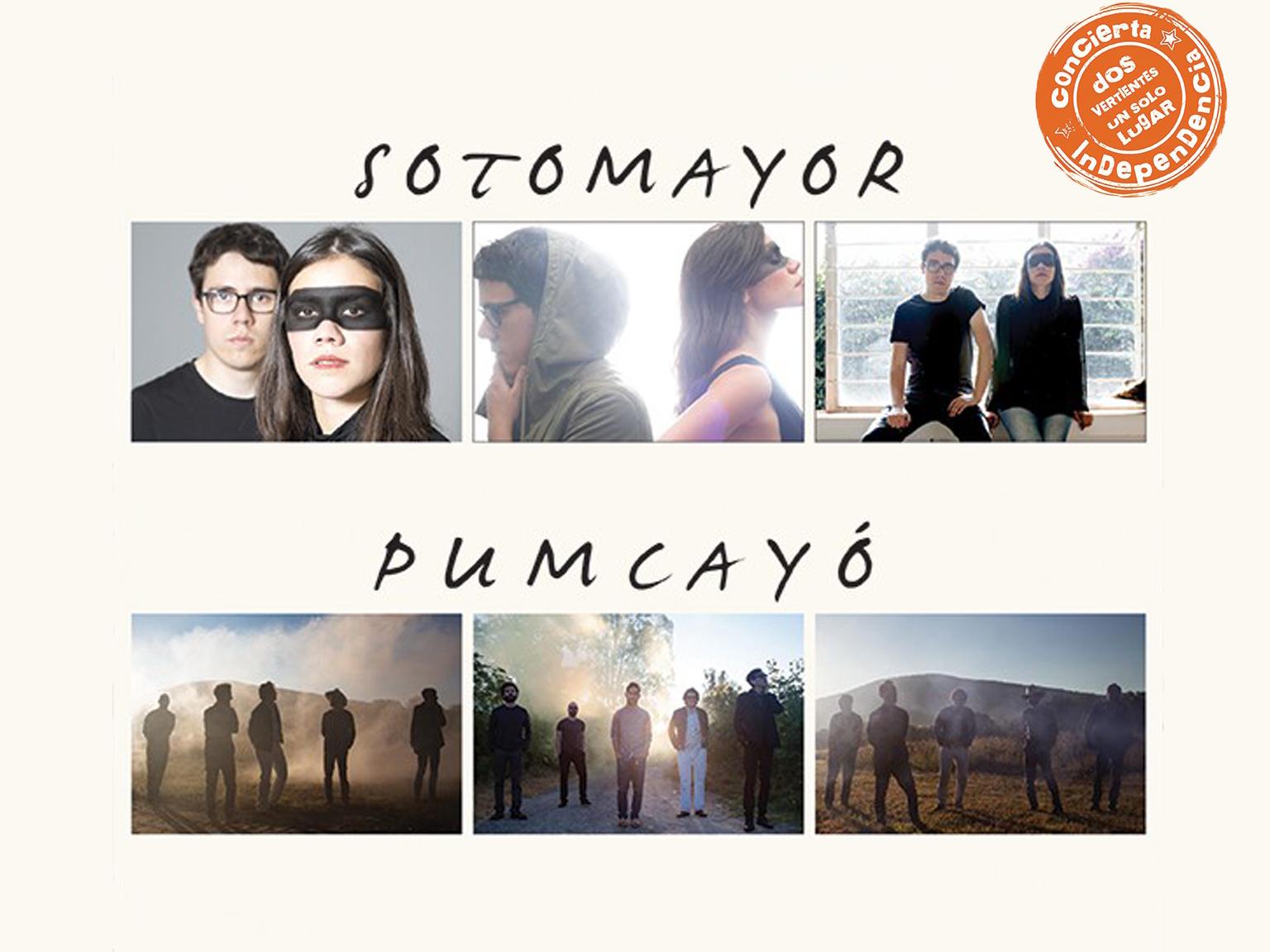 Gana boletos para ver a Pumcayó y Sotomayor en el Lunario