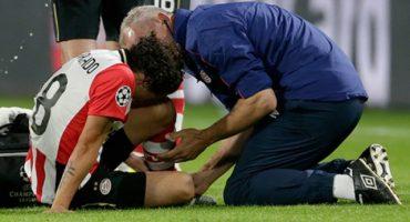 PSV confirma que Andrés Guardado es baja de 4 a 6 semanas; se perderá el partido con EU