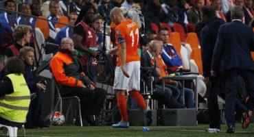 Robben está lesionado (no importa cuándo lean esto)