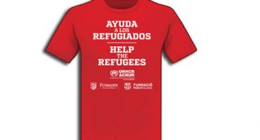 El Barcelona y el Atlético de Madrid usarán playeras en apoyo a refugiados